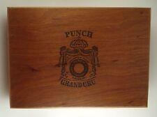 Punch Grand Cru Wood Cigar Box Robustos Empty