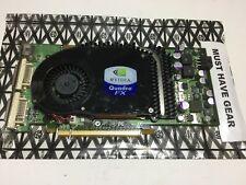 Dell Quadro FX3450 DDR3 256MB Dual DVI PCI-Express T9099 Graphics Card FREE SHIP