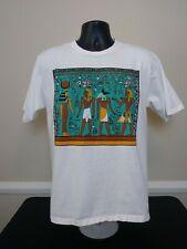 Vtg Wildwood Productions Mens T Shirt King Horemheb Sz Large Single Stitch Usa