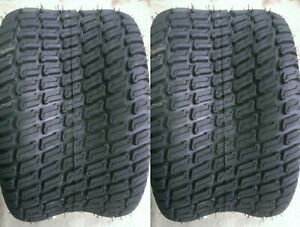2 - 24x12.00-12 6 Ply HEAVY DUTY Deestone D838 turf master Mower Tire 24x12-12