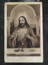 1942 Italy Postcard Cover to Kenya KUT POW Camp # 1 Prisoner of War Easter jesus