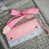 1*Storage Bag Pink Handheld Protective Sleeve Kawaii Carrying Case For NS Switch
