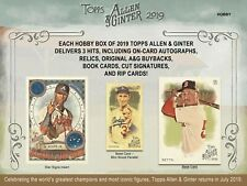 2019 Topps Allen & Ginter CHOOSE YOUR SINGLE CARD (201-400) - Buy 1 Get 1 Free