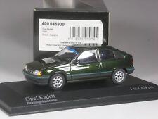 Klasse: Minichamps Opel Kadett E grün metallic 1:43 in  OVP