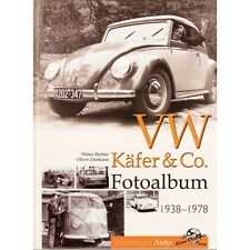 VW Käfer & Co Bulli T1 Bus Fotoalbum Oldtimer Modelle Typen Bilder Foto Buch