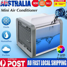 NEW Fan Cooling USB Rechargeable Mini Air Conditioner Portable Cooler Desktops