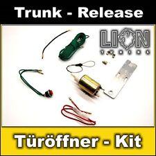 Trunk release Zugmotor Stellmotor Heckklappe Entriegelung Öffner ShaveDoor-Kit 2