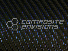 "Blue Reflections™ Carbon Fiber Fabric 2x2 Twill 50"" 3k 5.9oz"