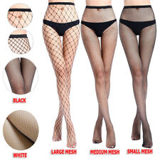 Lady Women's Mesh Net Fishnet Stockings Jacquard Pantyhose Waist High Tights New