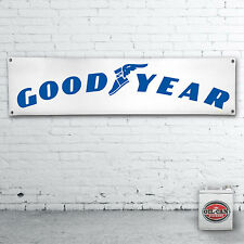 GOODYEAR  Banner  –  heavy duty for workshop, garage, man cave 1700 x 430mm