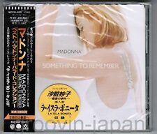 MADONNA Something To Remember JAPAN CD WPCR-555 OBI+FACTORY WRAP w/PROMO STICKER