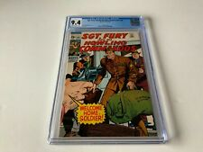 SGT FURY AND HIS HOWLING COMMANDOS 68 CGC 9.4 WELCOME HOME MARVEL COMICS 1969