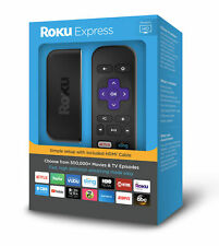 Roku 3900RW 1080p HD Digital Streaming Media Player 2018 W/ HDMI Cable - GC