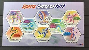 CURACAO. SOUVENIR SHEET, SPORTS 2012. MNH