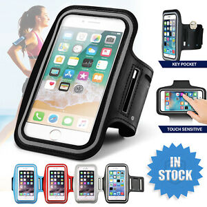 Sports Armband Phone Case Holder Arm Band Gym Running Jogging Exercise Bag Pouch