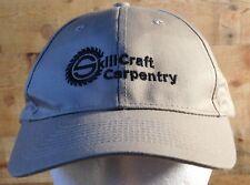 Skill Craft Carpentry Adjustable Adult Hat Cap