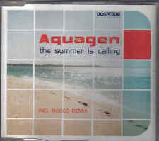 Aquagen-The Summer Is Calling cd maxi single