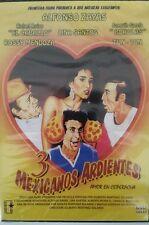 3 TRES MEXICANOS ARDIENTES (1986) Amor en Coperacha ALFONSO ZAYAS NEW DVD