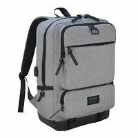 Firetrap Kingdom Backpack Grey Rucksack Knapsack Bag Pack