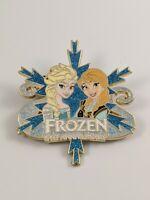 Disney Pin Trading DSSH Studio Store Frozen 5th Anniversary LE200 Pin Anna Elsa