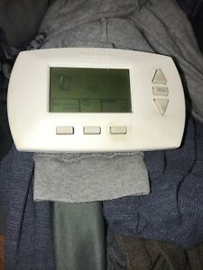 Honeywell  Programmable Wall Thermostat Backlight Display
