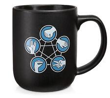 THE BIG BANG THEORY MUG - ROCK PAPER SCISSORS LIZARD SPOCK MUG - Sheldon Mug