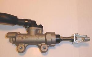 Universal Honda Hornet silver 13mm rear brake master cylinder assembly+hose/tank