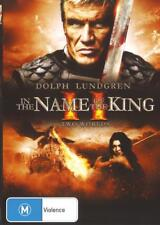 IN THE NAME OF THE KING 2 - TWO WORLDS - NEW R4 DVD FREE LOCAL POST