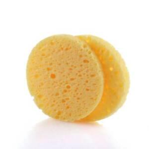 1/10/50x Cellulose Facial Sponge Natural Facial Cleansing Exfoliator Sponge #E18
