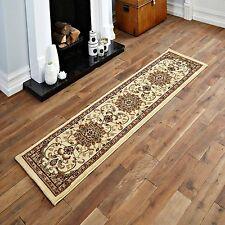 60x230cm Long Hallway Runner Rug Soft Classic Traditional Beige Area Floor Mats