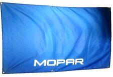 Mopar Flag Banner 3x5 ft Dodge Jeep Ram Challenger Plymouth Oem Charger Chrysler