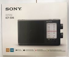 Sony ICF-506 Analog Tuning FM/AM Portable Radio