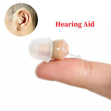 Small (CIC) Invisible Ear Hearing Aid Adjustable Sound Amplifier Enhancer Gift