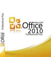 Microsoft Office 2010 Prof. Plus - Product Key für 1 PC + Installations-DVD