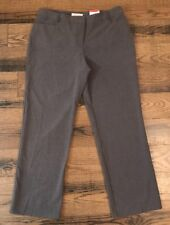 c8ad8eaa7f Dress Pants Slacks Women 14 Petite Covington Flat Front Straight Fit  Stretch NWT