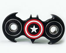 Fidget Spinner Batman Black Superhero Captain America Stress Handspinner Gadget