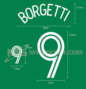 MEXICO Home World Cup 2006 REPRODUCTION PU Name Number