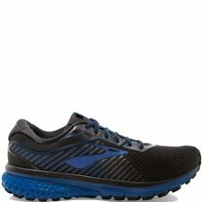 BROOKS GHOST 12  MEN'S ATHLETIC RUNNING FOOTWEAR  BLACK/TRUE BLUE/BLACK
