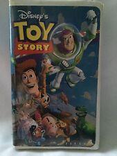 Toy Story Walt Disney Pixar Disney Movie Classic 1995 VHS Video Vintage Rare