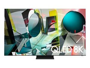 "Samsung Q900TS 75"" 4320p 8K QLED Smart TV - Stainless Steel"