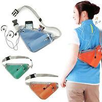 Hiking Travelling Running Sports Utility Bum Bags Belt Waist Pouch Wallet Bumbag