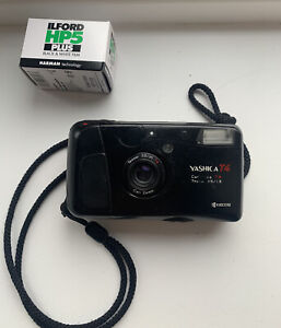 Yashica T4 35mm Point And Shoot Film Camera Carl Zeiss Lens + Film