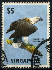 Singapore 1962-6 SG#77 $5 Eagle Bird Definitive Used #D46997