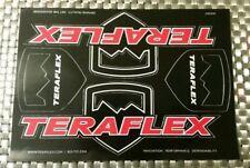 "TERAFLEX sheet racing decals stickers 6X8.5"" FREE SHIPPING jeep offroad crawl"
