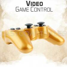 Gold Wireless Bluetooth Game Controller Pad For Sony PS3 Playstation 3