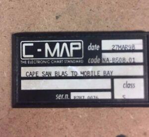 C-Map Cape San Blas to Mobile Bay NA-B508 Class S 27-MAR-98