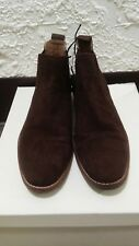 e969221524748 Men's Brown Genuine Premium Suede H&M Chelsea Boot Size 10 New with Tag  $129.00