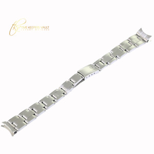 Genuine ROLEX Lady Stainless Steel Folded Oyster Bracelet  Watch Band For 26mm