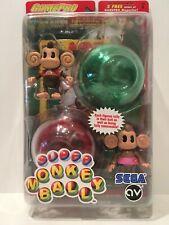 Super Monkey Ball Aiai & Meemee Figures-Game Pro/Joyride Studios Series 1