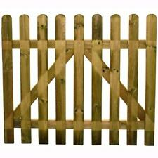 Cancello in Legno Blinky per Recinzione mod. Girasole Cm.100X80H